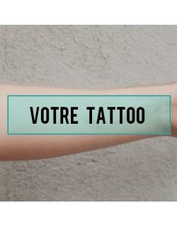 tatouage éphémère personnalisé bras