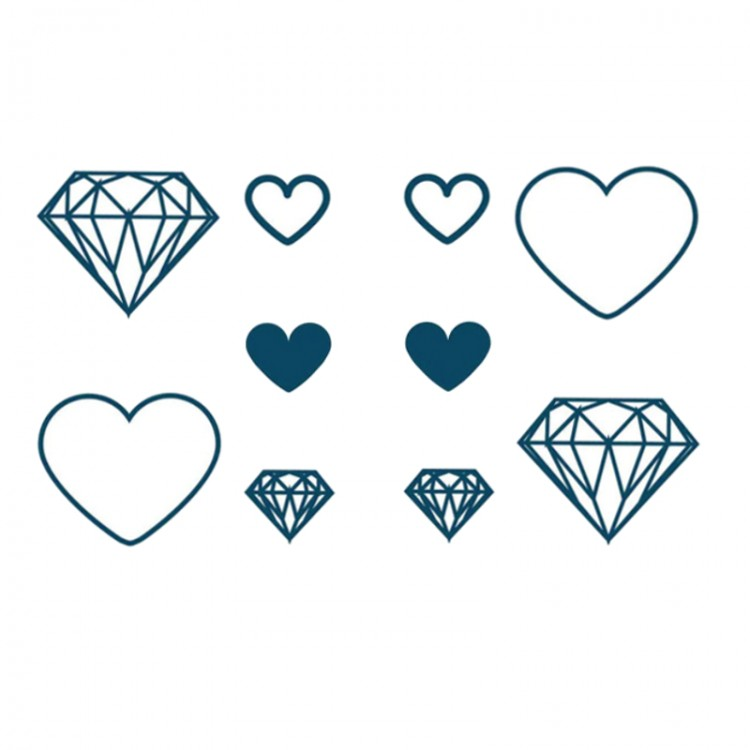 DIAMONDS HEART