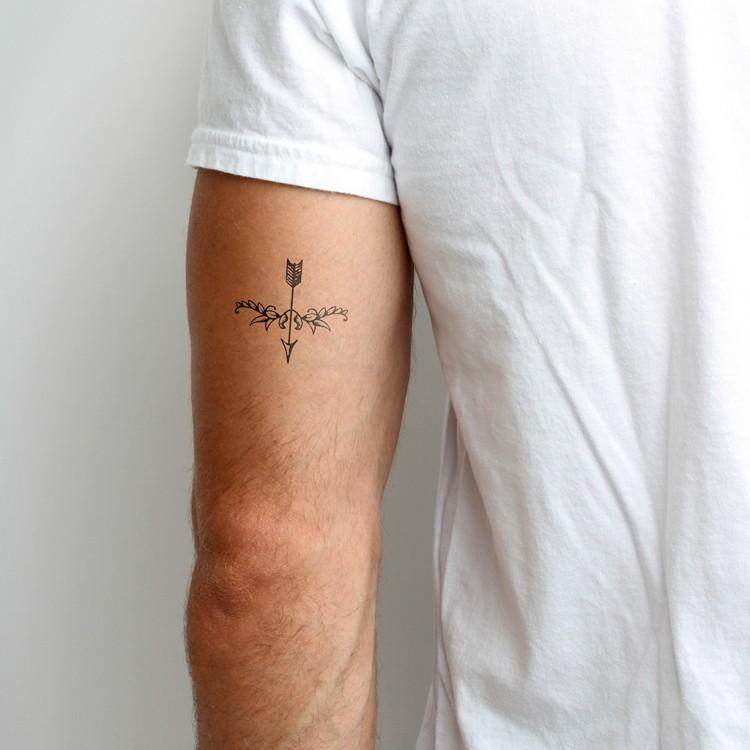 Tatouage Temporaire En Forme De Fleche Tatouage Temporaire