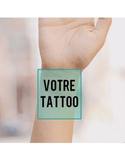 tatouage temporaire personnalisé poignet