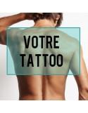tatouage éphémère personnalisé dos