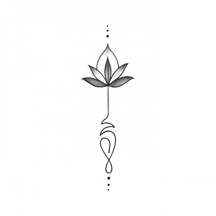 Tatouage Temporaire Fleur De Lotus