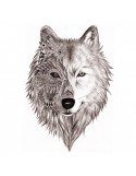 LOUP DOUBLE FACE