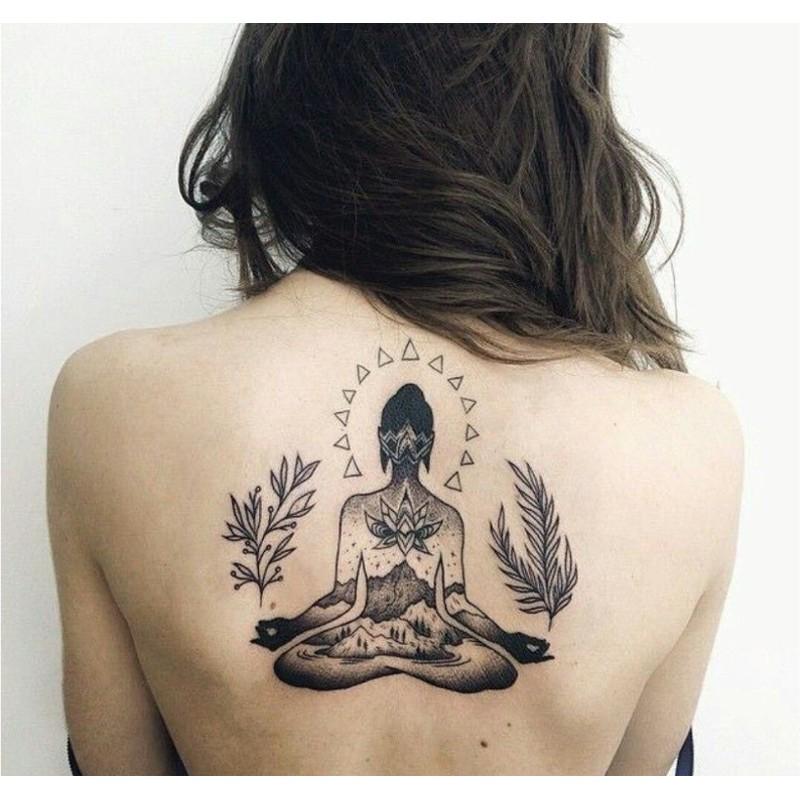 Le Bouddha, un tatouage en vogue
